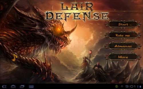 Lair Defense v.1.0